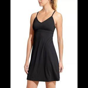 Athleta Shorebreak Womens Black Dress Size Small